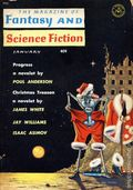 Fantasy and Science Fiction (1949-Present Mercury Publications) Pulp Vol. 22 #1