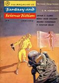 Fantasy and Science Fiction (1949-Present Mercury Publications) Pulp Vol. 10 #1