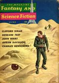 Fantasy and Science Fiction (1949-Present Mercury Publications) Pulp Vol. 18 #6
