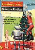 Fantasy and Science Fiction (1949-Present Mercury Publications) Pulp Vol. 18 #1