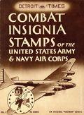 Detroit Times Combat Insignia Stamps (1943 Detroit Times 1