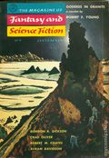 Fantasy and Science Fiction (1949-Present Mercury Publications) Pulp Vol. 13 #3