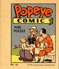 Popeye Comics and Puzzle (1932 King Feature Syndicates) 16
