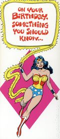 DC Comics Greeting Card (1978 DC Comics) 3