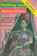 Magazine of Fantasy and Science Fiction (1949-Present Mercury Publications) Pulp Vol. 43 #6