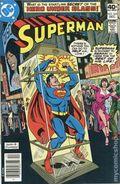 Superman (1939 1st Series) Mark Jewelers 342MJ