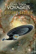 Star Trek Voyager Distant Shores SC (2005 Pocket Books) A Tenth-Anniversary Celebration 1-1ST
