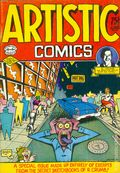 Artistic Comics (1973 Golden Gate/Kitchen Sink) #1, 1st Printing
