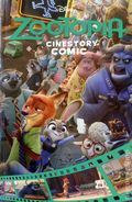 Zootopia Cinestory Comic GN (2016 Joe Books) Disney 1-1ST