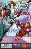 Avengers Assemble Civil War (2016 Marvel Universe) 1