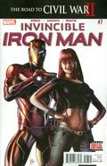 Invincible Iron Man (2015 2nd Series) 7A