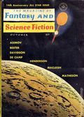 Fantasy and Science Fiction (1949-Present Mercury Publications) Pulp Vol. 25 #4