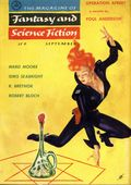 Fantasy and Science Fiction (1949-Present Mercury Publications) Pulp Vol. 11 #3