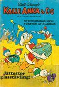 Kalle Anka & C:o (Swedish Series 1957-1992 Hemmets Journal) Donald Duck & CO 1966, #27