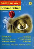 Fantasy and Science Fiction (1949-Present Mercury Publications) Pulp Vol. 30 #2