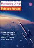 Fantasy and Science Fiction (1949-Present Mercury Publications) Pulp Vol. 28 #5