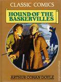 Classic Comics Hound of the Baskervilles HC (1990 Gallery Books) Arthur Conan Doyle 1-1ST