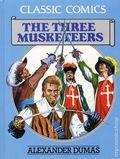 Classic Comics The Three Musketeers HC (1990 Gallery Books) Alexander Dumas 1-1ST