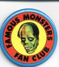Famous Monsters of Filmland Fan Club Badge (1972 Warren) 1