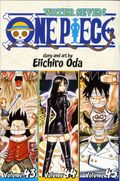 One Piece TPB (2009- Viz) 3-in-1 Volume 43-45-1ST
