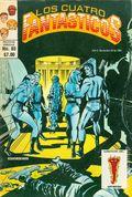 Los Cuatro Fantasticos (Mexican Series 1980-1982 Novedades) 85