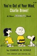 You're Out of Your Mind, Charlie Brown SC (1959 Holt, Rinehart and Winston) A New Peanuts Book 1st Edition 1B-REP