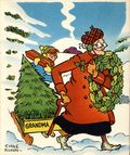 Grandma Greeting Card (1951 King Features Syndicate) 1