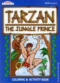 Tarzan The Jungle Prince Coloring and Activity Book SC (1997 Kappa Books) BLUE