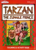 Tarzan The Jungle Prince Coloring and Activity Book SC (1997 Kappa Books) RED