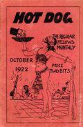 Hot Dog The Regular Fellows Monthly (1922 Merit Publishing) Vol. 2 #1