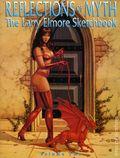 Reflections of Myth The Larry Elmore Sketchbook SC (1993 SQP) 2-1ST
