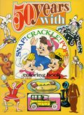 50 Years with Snap Crackle and Pop Coloring Book SC (1978 Western) 1-1ST