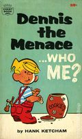 Dennis the Menace Who Me? PB (1963 Crest Books) 1-1ST