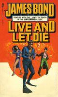 James Bond 007 Live and Let Die PB (1980 Jove Novel) 1-1ST
