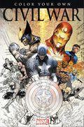 Color Your Own Civil War SC (2016 Marvel) 1-1ST