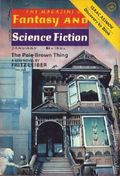 Magazine of Fantasy and Science Fiction (1949-Present Mercury Publications) Vol. 52 #1