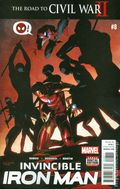Invincible Iron Man (2015 2nd Series) 8A