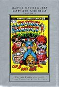 Marvel Masterworks Captain America HC (1990-Present Marvel) 1st Edition 8-1ST