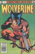 Wolverine (1982 Limited Series) Canadian Price Variant 4