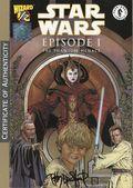 Star Wars Episode 1 Phantom Menace (1999) Wizard 1/2 1ASIGNED