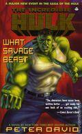 Incredible Hulk What Savage Beast PB (1996 Boulevard Novel) 1-1ST
