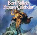 Boris Vallejo Fantasy Calendar (1979-1999 Workman) Mythology Calendar YR:1982