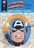 Captain America Giant Comics to Color (1976) Whitman 1663