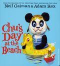 Chu's Day at the Beach HC (2016 HarperCollins) A Board Book by Neil Gaiman 1-1ST