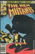 New Mutants (1983 1st Series) Canadian Price Variant 3