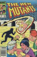 New Mutants (1983 1st Series) Canadian Price Variant 9