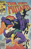 New Mutants (1983 1st Series) Canadian Price Variant 14