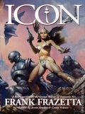 Icon A Retrospective by the Grand Master of Fantastic Art HC (1998 Underwood Books) Frank Frazetta 1-1ST