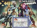 Extraordinary/Uncanny X-Men Connecting Cover Signed Set (2016 J. Scott Campbell) COLOR
