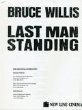 Last Man Standing Media Press Kit (1996 New Line Cinema) KIT-1996